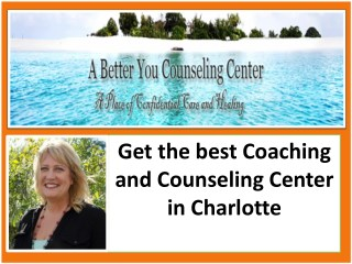Find the best life coaching Center in Charlotte
