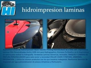 HIDROIMPRESION - VENTA DE LAMINAS DESDE 3.38€- ACTIVADOR -WATERTRANSFER - HIDROGRAFIA