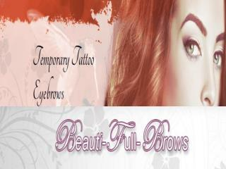Eyebrow Tattoos, False eyebrows, Fake brows - Beautifullbrows, New Jersey