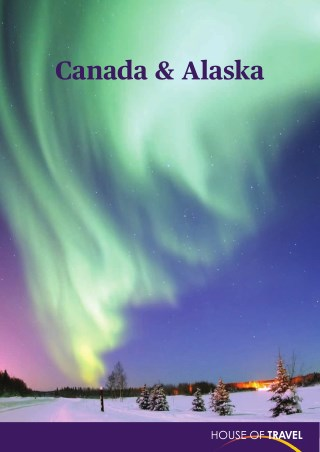 House of travel - Canada & Alaska Brochure 2017