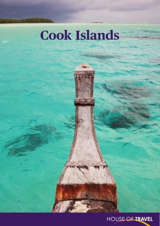 House of travel - Cook Islands Brochure 2017