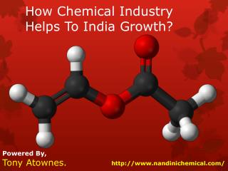 How Chemical Industry Helps To India Growth