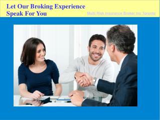Insurance Brokerage Toronto