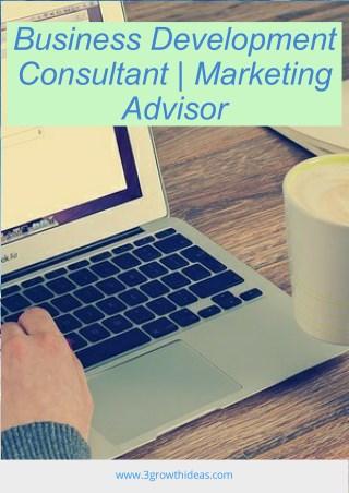 Business Development Consultant | Marketing Advisor