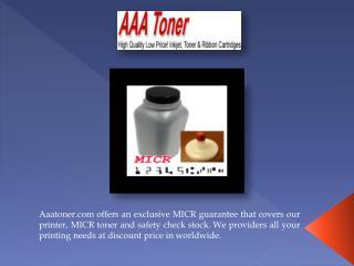 Micro toner
