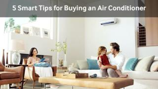 5 Smart Tips for Buying an Air Conditioner