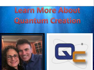 Learn the quantum creation of the world: