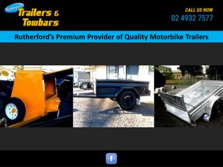 Rutherford's Premium Provider of Quality Motorbike Trailers