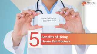 House Call Doctors Are Making A Comeback