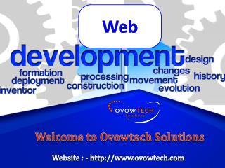Website development company - Ovowtech