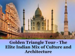 Golden Triangle Agra Jaipur Tour