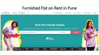 Furnished Flat for rent in Pune