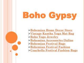 Boho Yoga Jewelry Online |Boho Gypsy