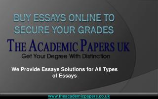 Buy Essays Online UK to Secure Your Grades