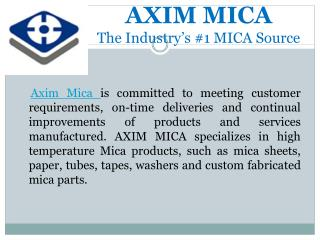 Mica Sheets | Axim Mica Manufacturers and Suppliers