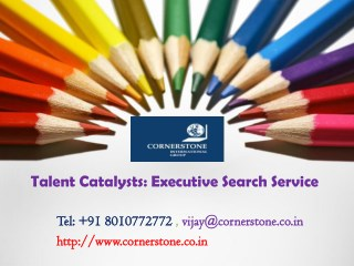 Talent Catalysts Executive Search Service