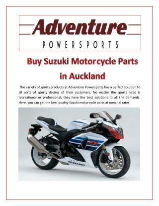 Buy Suzuki motorcycles Parts in Auckland
