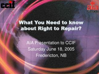 What You Need to know about Right to Repair