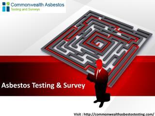 Asbestos Testing & Survey