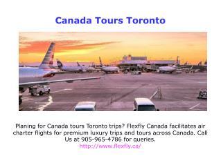 Flight Charter Services Toronto