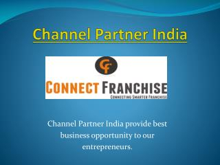 Channel Partner India