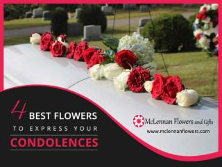 4 Recommended Sympathy Flowers