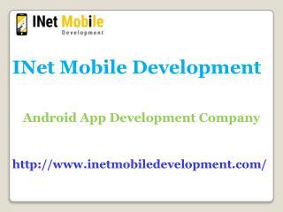 Android app Development Company Chennai