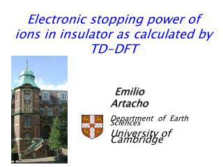 Electronic stopping power of ions in insulator as calculated by TD-DFT
