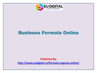 Business Formula Online