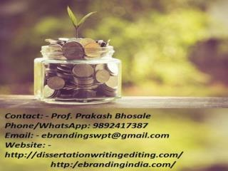 The Professional Project Finance Funding Consultation Services in Pune