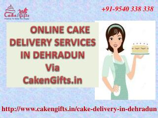 Online cake delivery services in dehradun