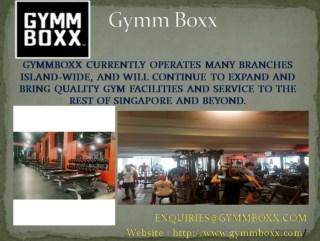 Gym Trainer Singapore