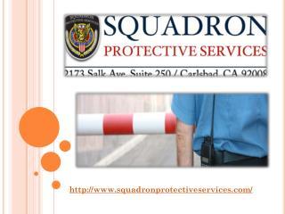 Security Guard Company Vista