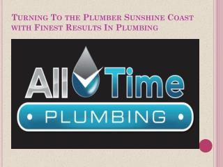 Sunshine Coast Plumber