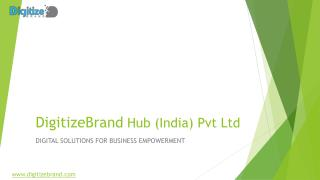 Digital Marketing ,App development and Mobile development company in pune-Digitize Brand