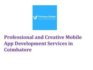 Creative Mobile App development Services