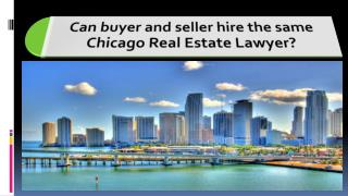 Chicago Real Estate Lawyer - Get The Best Local Legal Advice