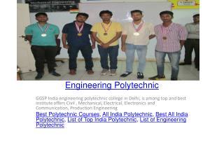 Engineering Polytechnic