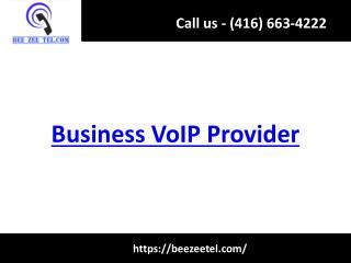 Business VoIP Provider - Beezeetel