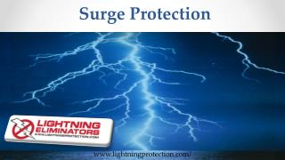 Protect your electronic items With Lightning Surge Protection Devices