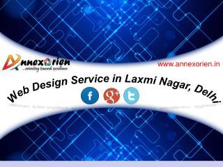 Web Design Service in Laxmi Nagar, Delhi