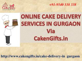 Online cake delivery services in gurgaon