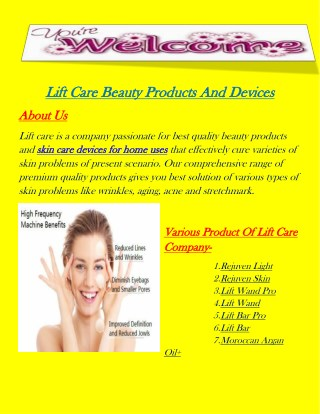 Grab Best Quality And Effective Skin Care Devices For Home Uses.