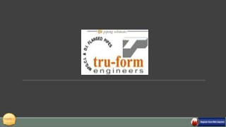 Manufacturing Services in Nagpur - Tru Form Engineers