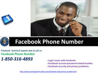 How can I approach Facebook Phone Number 1-850-316-4893 team?