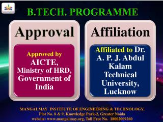 Top Mechanical Engineering College in Delhi NCR