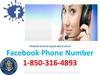 Is Facebook Phone Number accessible at your nearest transfer? call 1-850-316-4893