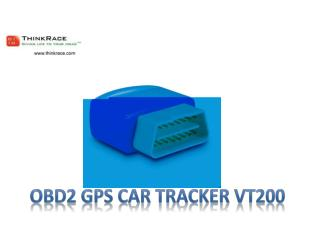 OBD 2 Car GPS Tracker – A simple  Plug & Play Device