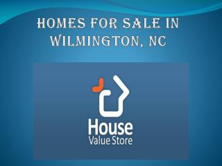 Homes for sale in wilmington nc