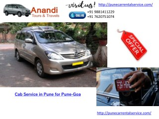 car rental service provider in pcmc pune